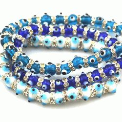3pcs-set-evil-eye-bracelet-rhinestone-fashion-jewelry-bling-bling-bracelets-small-bead-string-bracelet